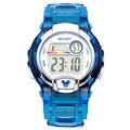 Disney quente Relógio Do Esporte Marca de Luxo LED Relógio Eletrônico Digital À Prova D' Água 3ATM Relógios para As Mulheres Relógio de Pulso Dos Homens Do Esporte Ao Ar Livre