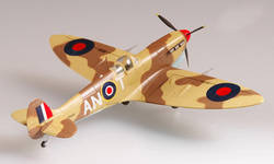Труба 1: 72 британских ВВС Spitfire истребитель 37216 Готовые модели продукта