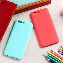 Akabeila конфеты мобильный телефон чехол для OnePlus 5 один плюс 5 A5000 5.5 дюймов Чехол кремния мягкой ТПУ задняя телефон крышка Щит капюшон красный