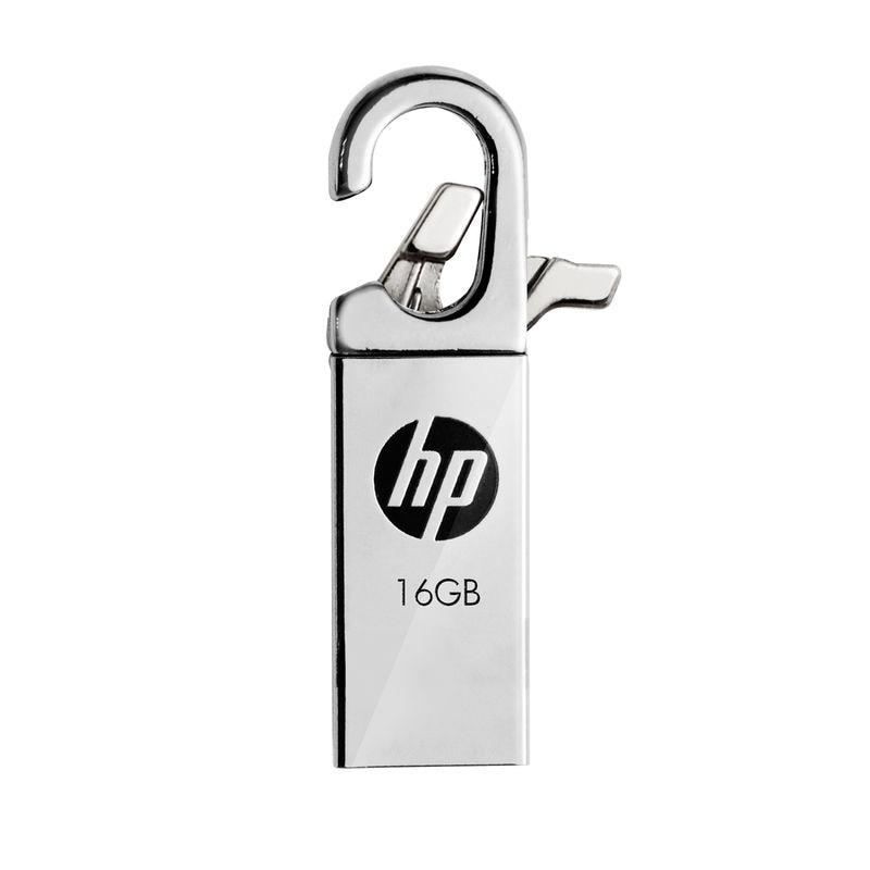 HP v252w USB Flash Drive Pendrive cle usb 16 go Metal Pendrives Creativos Clef Disk on Key Hook Flash Drives Memory Stick 16 gb