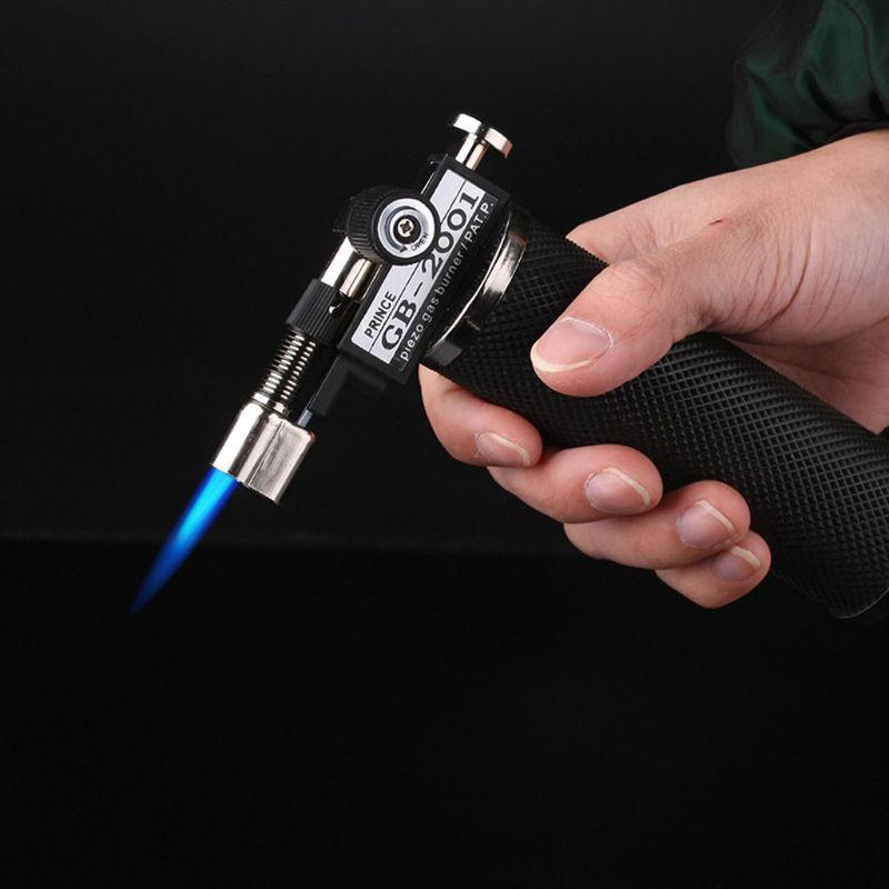 Купить с кэшбэком Micro Blow Torch Adjustable Flame Gold Silver Welding Soldering Jewelry Torch