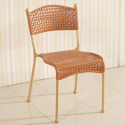 Rattan Chair Small Rattan Chair Can Overlap Household Living Room Children's Chair Environmentally Friendly Hand-made