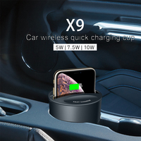 Qi Wireless Car Charger Quick Charger Fast Wireless Charger For Samsung Iphone Xiaomi Huawei For Charging Mobile Phone Universal
