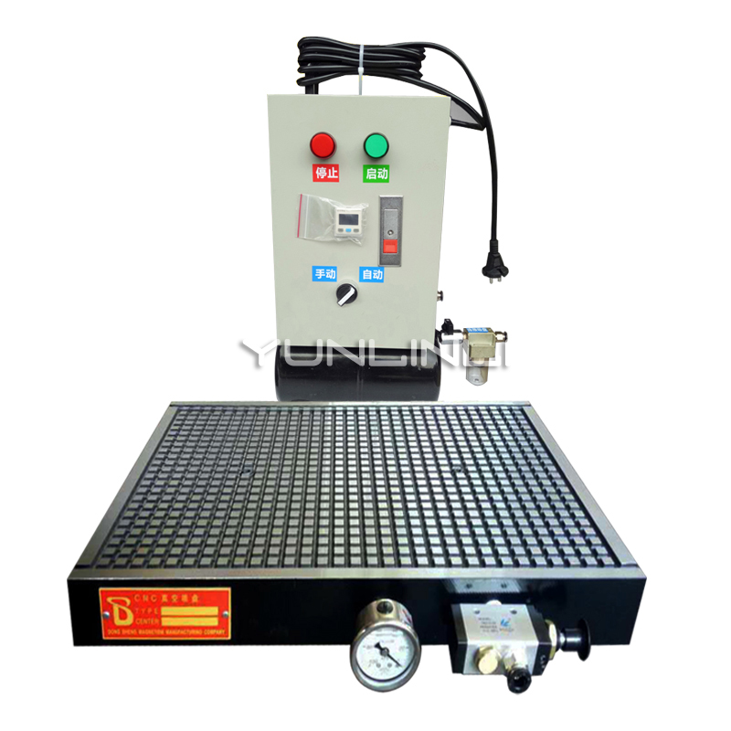 Cnc Vacuum Suction Cup Processing Center Industrial 300*300mm Automatic Pressure Maintaining Pneumatic Table Aluminum Plate