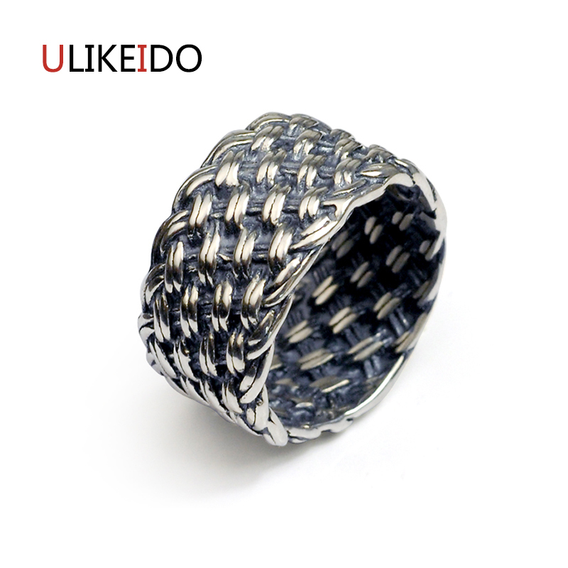 100% Pure 925 Sterling Silver Jewelry Weave Rings Wide Version Men Signet Ring For Women Special Fine Gift 1150100% Pure 925 Sterling Silver Jewelry Weave Rings Wide Version Men Signet Ring For Women Special Fine Gift 1150