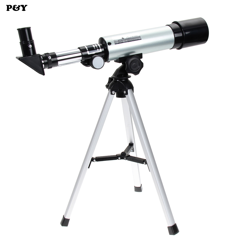 Original F36050M Monocular 360/50mm Refractive Powerful Astronomical Telescope With Tripod Outdoor Spotting Scope 1pc 360 50mm refractive monocular astronomical telescope tripod hd space monocular spotting scope professional telescopes