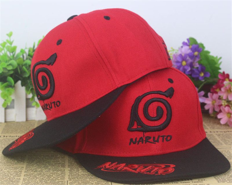 Cosplay Baseball Cap Hat Naruto One Piece Fairy Tail Cosplay Headwear Cosplay Hat Unisex Anime Game Cosplay Costume Accessories image