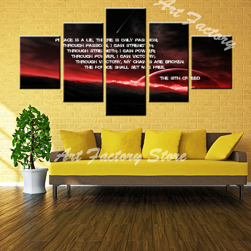 good sales 5 pieces high definition print about firemen police wall ...