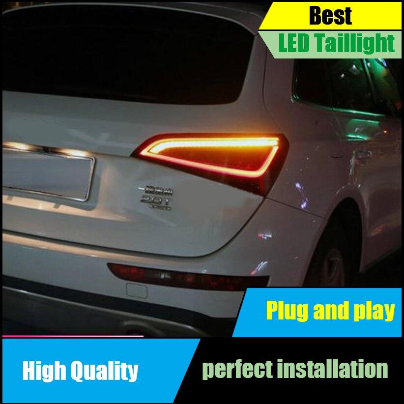 Feux arrière de style de voiture pour Audi Q5 2009-2015 ensemble clignotant dynamique feu arrière LED entraînement de la lampe arrière + frein + feu de signalisation