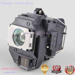 Image 3 - For ELPLP58 EB X92 EB S10 EX3200 EX5200 EX7200 EB S9 EB S92 EB W10 / EB W9 / EB X10  EB X9 for EPSON projector lamp with housing