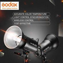 Godox SK400 400Ws студия профессиональной фотографии вспышка стробоскопа света лампы Глава 110 В/220 В с 50 Вт моделирование лампа