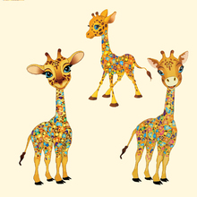 Fashion Parent Clothing Stickers Patches Iron on Transfer Cute Kids  Washable Appliques for Decoration @TH4