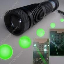 Sale Green Laser Pen Adjustable Focus Burning High Quality Laser Flashlight Green Laser Designator Pointer Night Vision