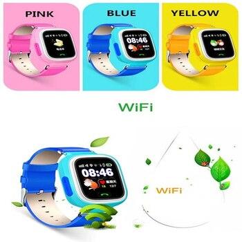 Heißer Verkauf Günstigen Preis Touchscreen Sos Aufruf Android Kinder Q90 Gps Tracker Smart Handy Uhr