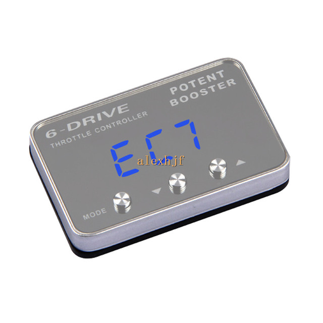 TROS Potent Booster II 6 Drive Electronic Throttle Controller case for Nissan Tiida Sylphy Maxima Prarie X-trail Renault koleos