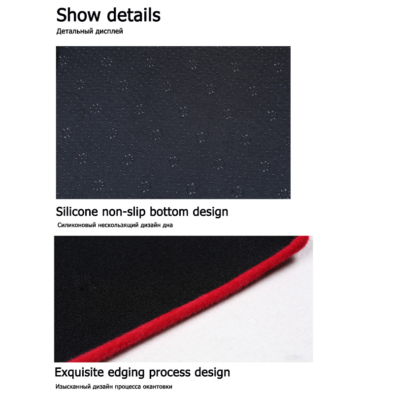 Image 5 - car dashboard avoid light pad instrument platform Desk Cover Mats Carpets For Toyota Camry 2018 2019 Automotive interior product-in Interior Mouldings from Automobiles & Motorcycles