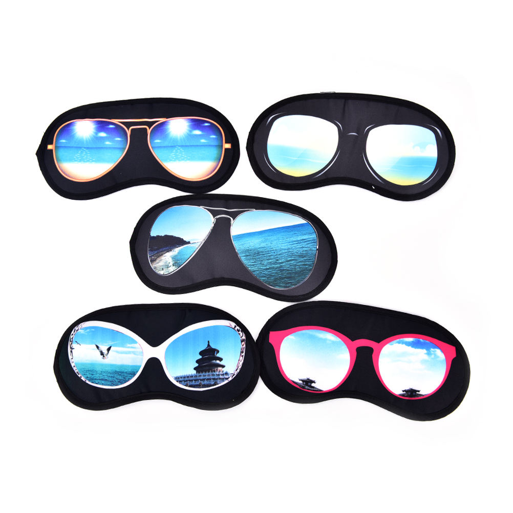 1Pc 3D Sleep Mask Natural Sleeping Eye Mask Eyeshade Cover Shade Eye Patch Women Men Soft Portable Blindfold Travel Eyepatch