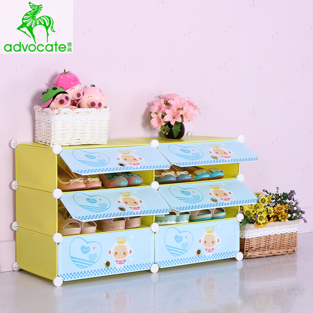 Childrenu0027s Environmental Advocates Cartoon Toy Cabinets Balcony Porch  Cabinet Dust Shoe Lockers Shoe Small Shipping