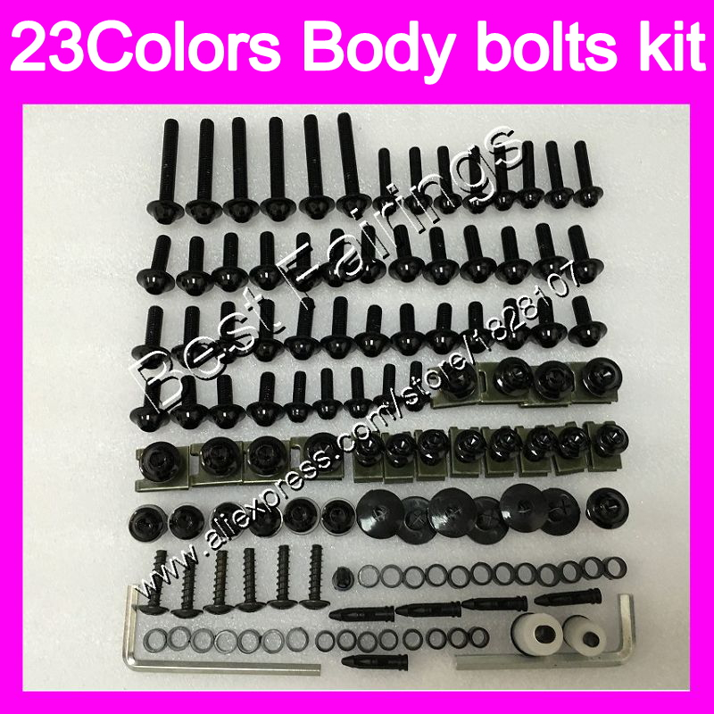 Fairing bolts full screw kit For BMW S1000R S1000 R S1000RR 14 15 16 17 S1000 RR 2014 2015 2016 2017 Complete Body screws Nuts