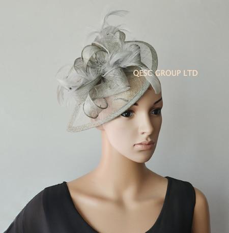 sinamay hat fascinator.Teal blue 6e9ccaa25e6