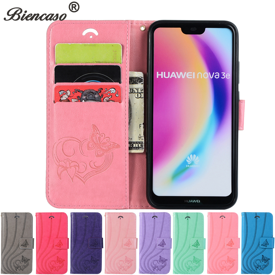 Leather Butterfly Phone Cases For Huawei Mate 10 Lite Enjoy 7S Y6 2017 P10 P20 Lite Fash ...