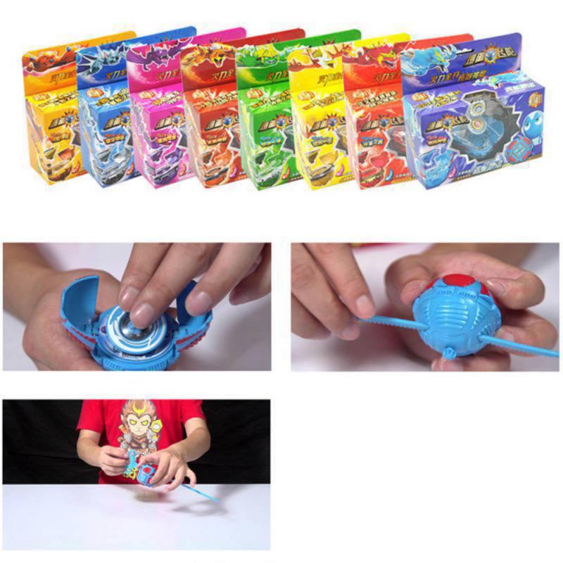 2018 Novelty Gyroscope Magic Gyro Decompression Toys Children Boy Girl Kid Right Left Rotating Plastic Plating Gift