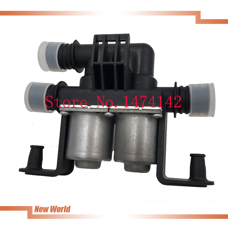Heater Control Valve Dual Solenoid fits for BMW E39 530 540 E53 X5 OEM 64128374995 64 12 8 374 995