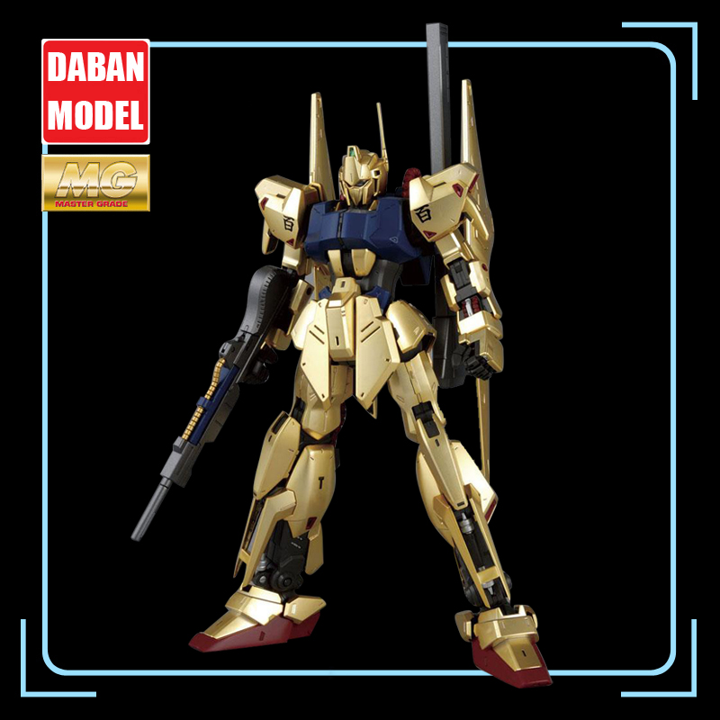 DABAN Model 1/100 MG 6648 Electroplating Edition Hundreds of Types 2.0 Hyaku Shiki Action Figure Kids Assembling Model Toys-in Action & Toy Figures from Toys & Hobbies    1