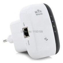 Livraison Gratuite Portable Mur-plug 802.11 b/g/n 300 Mbps Sans Fil-N Routeur w/3dBi Antenne WiFi Repeater Client Pont (UE Plug))