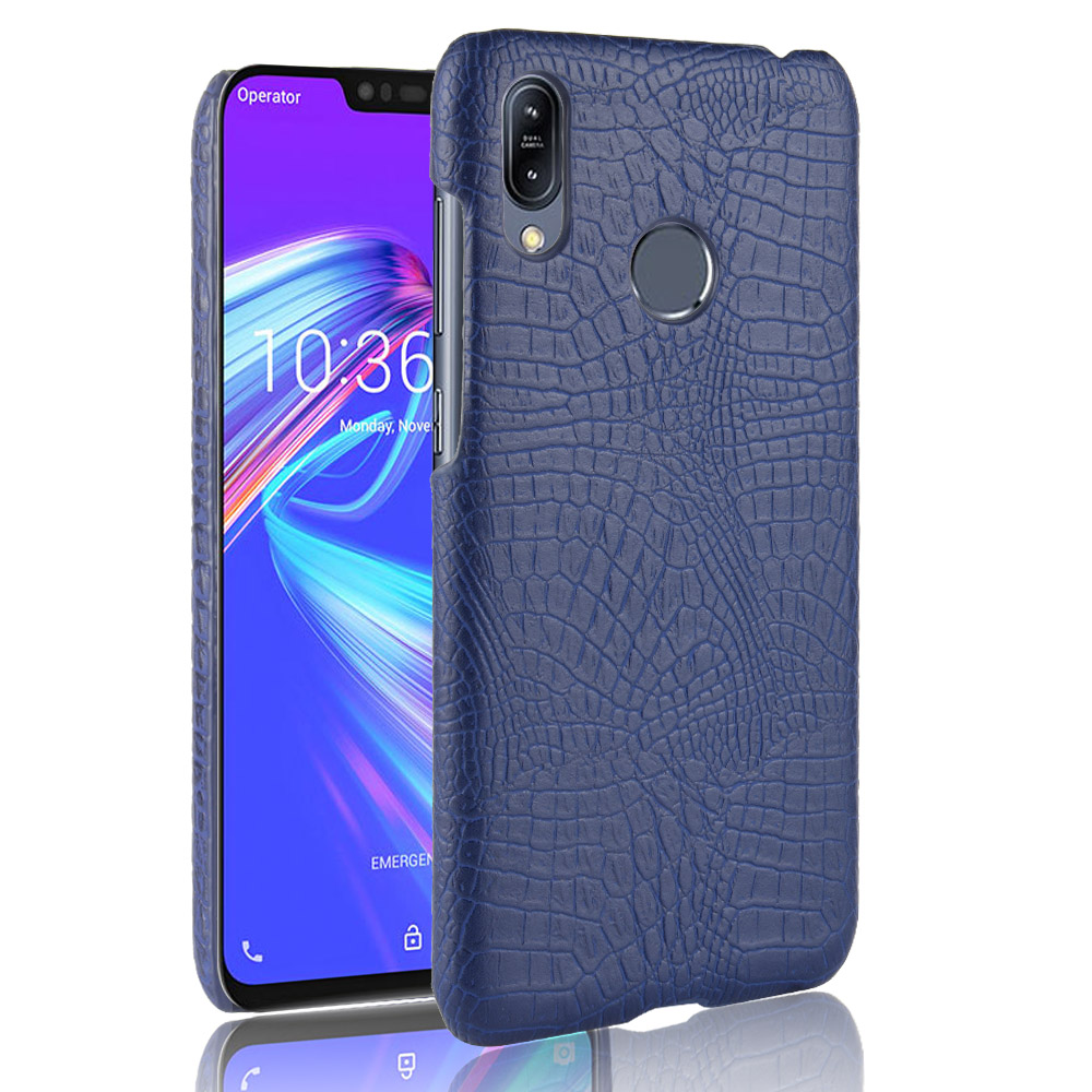 For ASUS Zenfone Max Pro M2 ZB631KL Case Luxury Crocodile Leather Pattern Hard Phone Cover For ASUS Zenfone Max M2 ZB633KL
