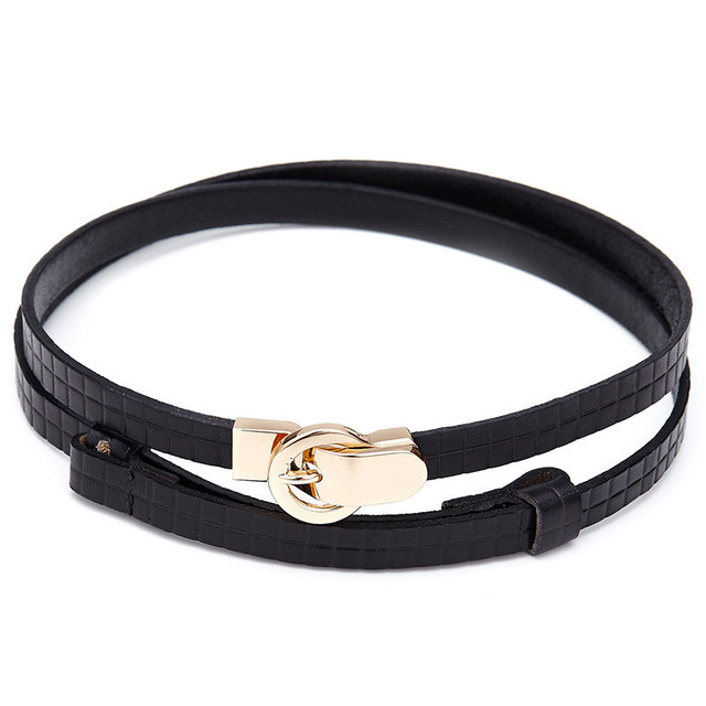 609497eb19b Fasbys New Fashion Brand Luxury Genuine Leather Ladies Belt Metal Buckle  Belts for Women Color Black Red Yellow Coffee Waistband