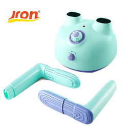 Jron 220V Detachable Timers Dry Shoe Machine Device Shoe Care Kit Accessories Sterilization Shoe Fresheners Electric Shoe Dryer