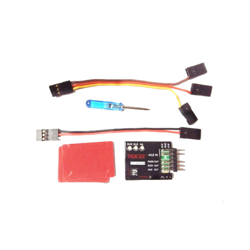 F06670 P1-GYRO 3-Axle Flight Controller Stabilizer System Gyro Treaxial Spinning Balancing for Fixed Flying Wing Airplane FPV eagle a3 v2 aeroplane flight controller stabilizer system 6 axle gyro for rc airplane fixed wing copter