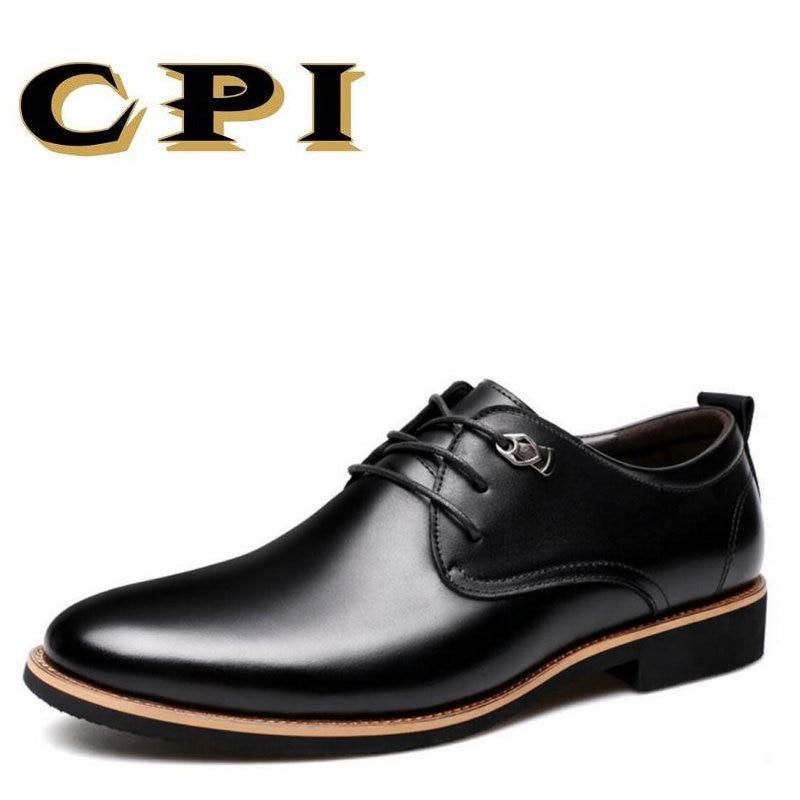 CPI 2017 Këpucë për burra të thjeshtë të modës të thjeshtë - Këpucë për meshkuj