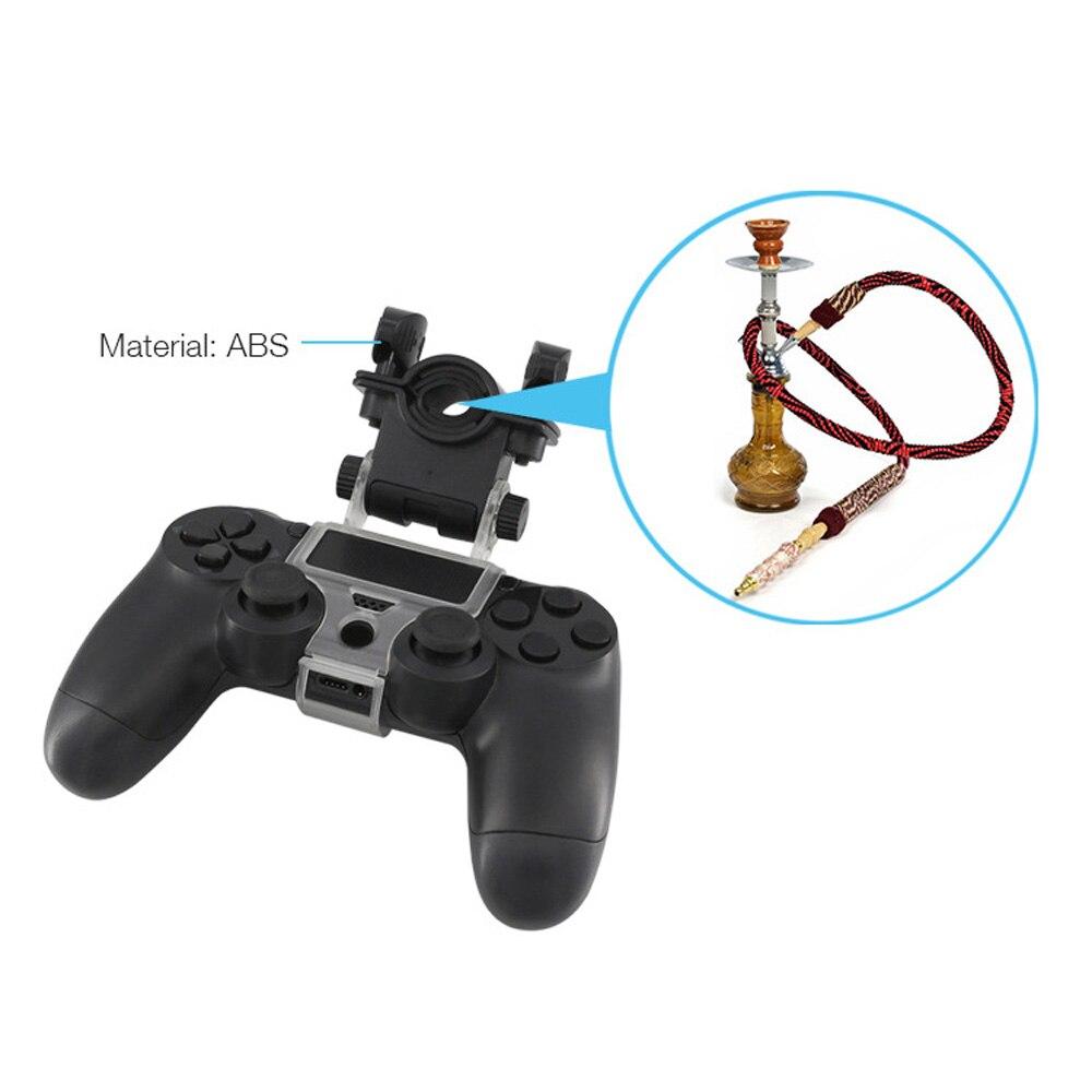 180 Einstellbar Halterung Stehen PS4 Wireless Controller Tabak Rohr Telefon Clip Halter für Playstation 4 PS4 Dünne/PS 4 PRO