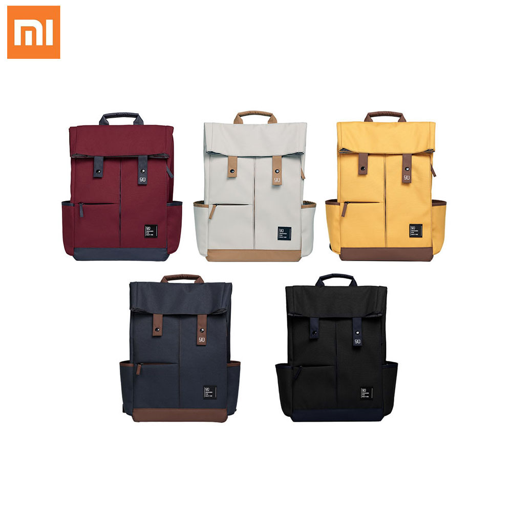 xiaomi 90Fun college casual backpack grade 4 waterproof 13L big capacity tough and strong for 15.6 inches laptop and below-in Personal Care Appliance Accessories from Home Appliances