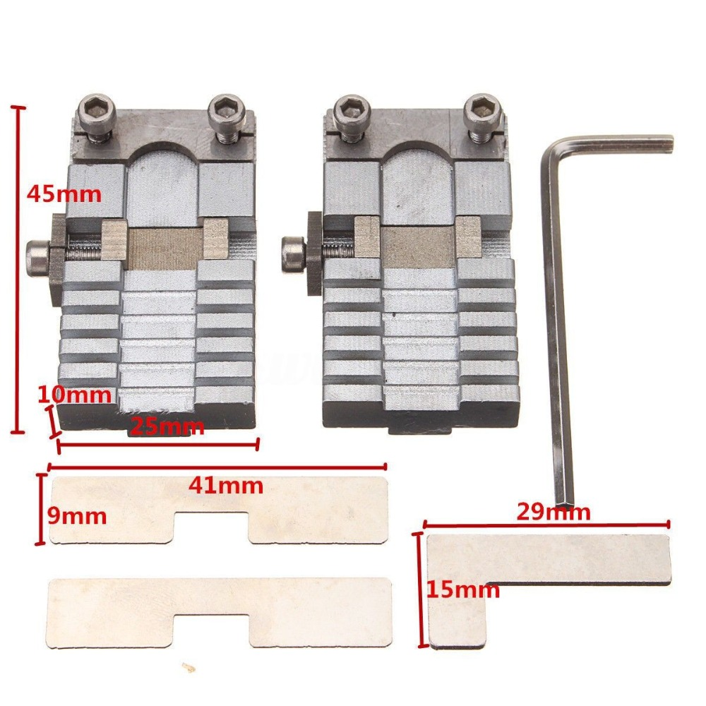 Universal Key Cutting Machine Fixture Clamp Parts Locksmith Tools For Key Copy Machine For Special Car Or House Keys