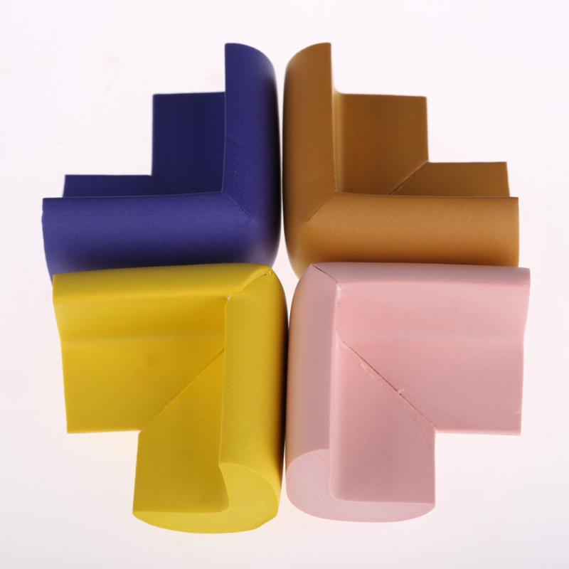 10Pcs/lot Baby Safety Table Corner Edge Guard Soft Kid Protection Cover Multicolor Children Table Corner Cover Care Random Color
