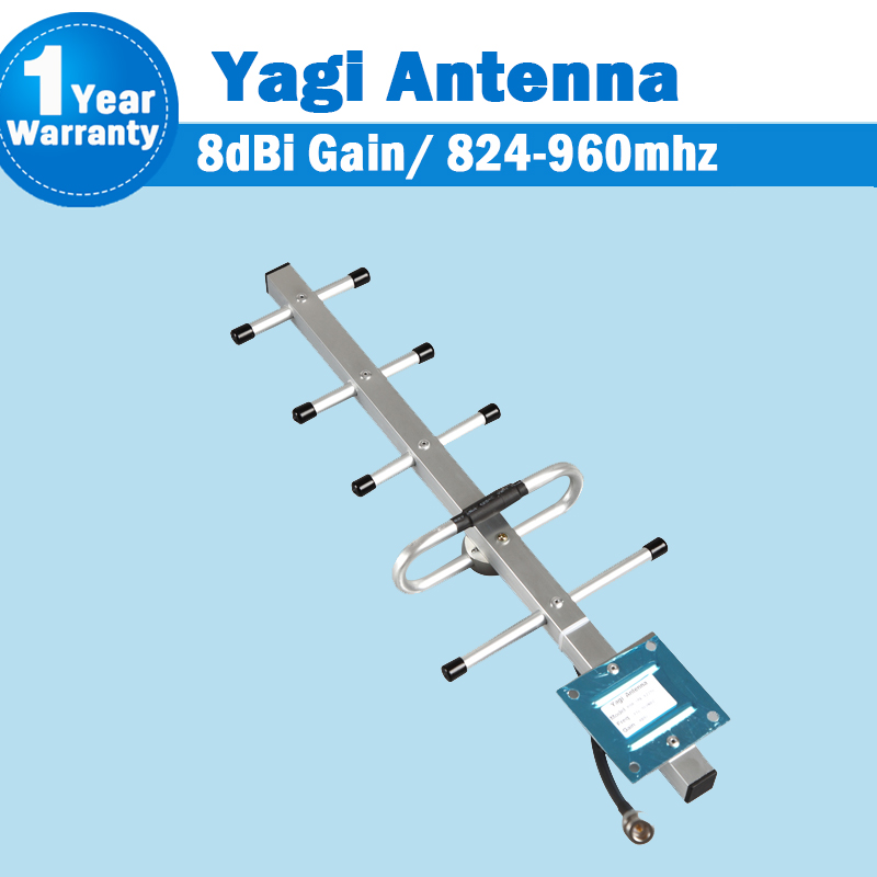GSM Antenna 824-960MHz GSM 900mhz CDMA <font><b>850mhz</b></font> Network Outdoor Yagi Antenna External Antenna For Mobile Phone Signal Booster S31 image