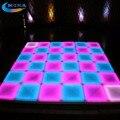 Sensitive Led pista de dança Disco Club decoração Led luz de palco pista de dança
