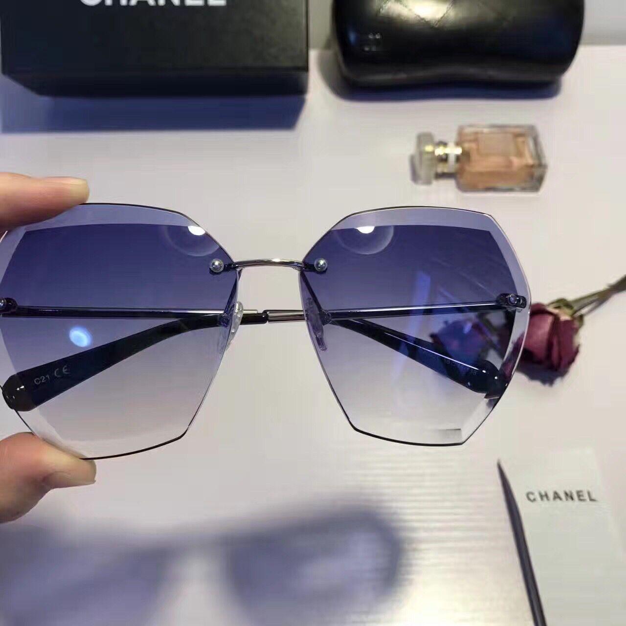9d7ba7ade5948f Mode Mode Coupe De 2017 Femmes Bord Polygone Nouvelles Nouvelles Nouvelles  Monture Sans taaUqgAw