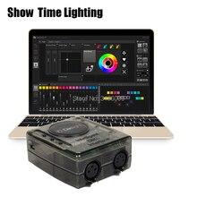 2019 newest version Daslight DVC4 DMX Software stage light controller moving head console DJ Stage Light USB Lighting Interface цена 2017