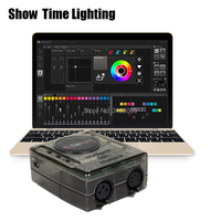 2019 newest version Daslight DVC4 DMX Software stage light controller moving head console DJ Stage Light USB Lighting Interface
