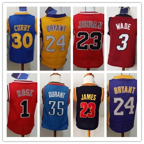 vgevls Aliexpress.com : Buy Free Shipping 30 Stephen Curry 24 Kobe Bryant