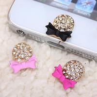 Crystal Rosette Home Button Sticker Decal for iPhone 5 5C 5s 6 iPad Mini