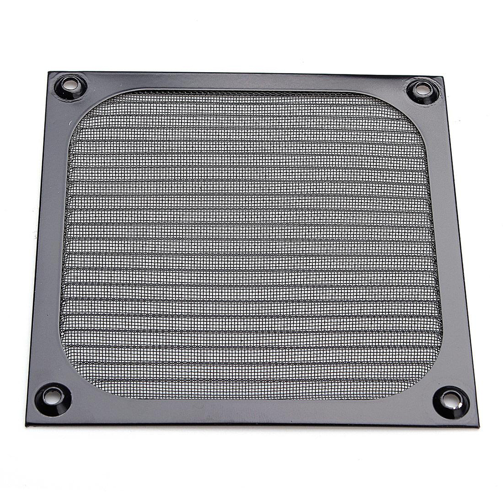 Image 2 - 120mm PC Computer Fan Cooling Dustproof Dust Filter Case Aluminum Grill Guard-in Computer Cleaners from Computer & Office