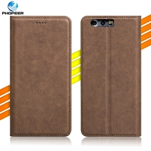 Luxury Retro PU Leather Case For Huawei Honor 9 5.15 inch Mobile Phone Stand Filp Cover Case For Huawei Honor 9 Premium
