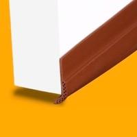 Porta acústica Varredura Inferior Projecto Rolha de Silicone Adesiva Threshold Seal 28mm x 910mm Marron Marrom Branco Cinza