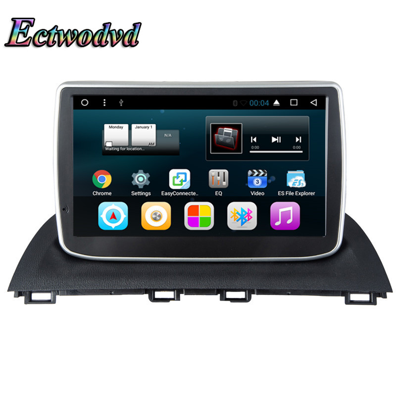Ectwodvd 2018 Newest Octa Core Android 7.1 Car Radio GPS Navigation for Mazda 3 Axela 2014 2015 2016 Auto DVD Multimedia Player ectwodvd wince 6 0 car multimedia player for mazda 3 2010 2011 2012 2013 2014 2015 2016 car dvd video gps navigation radio