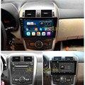 "10.2 ""1024*600 Quad core android автомобилей gps-навигация Для Toyota corolla 2007-2011 dvd-плеер Автомобиля радио Bluetooth встроенный wi-fi"